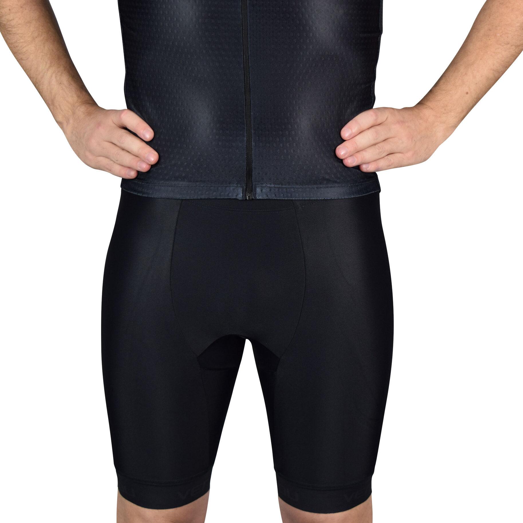 Black Tri Shorts Front