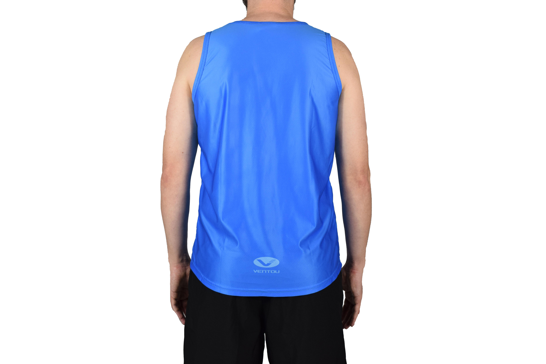 Blue Singlet back 2