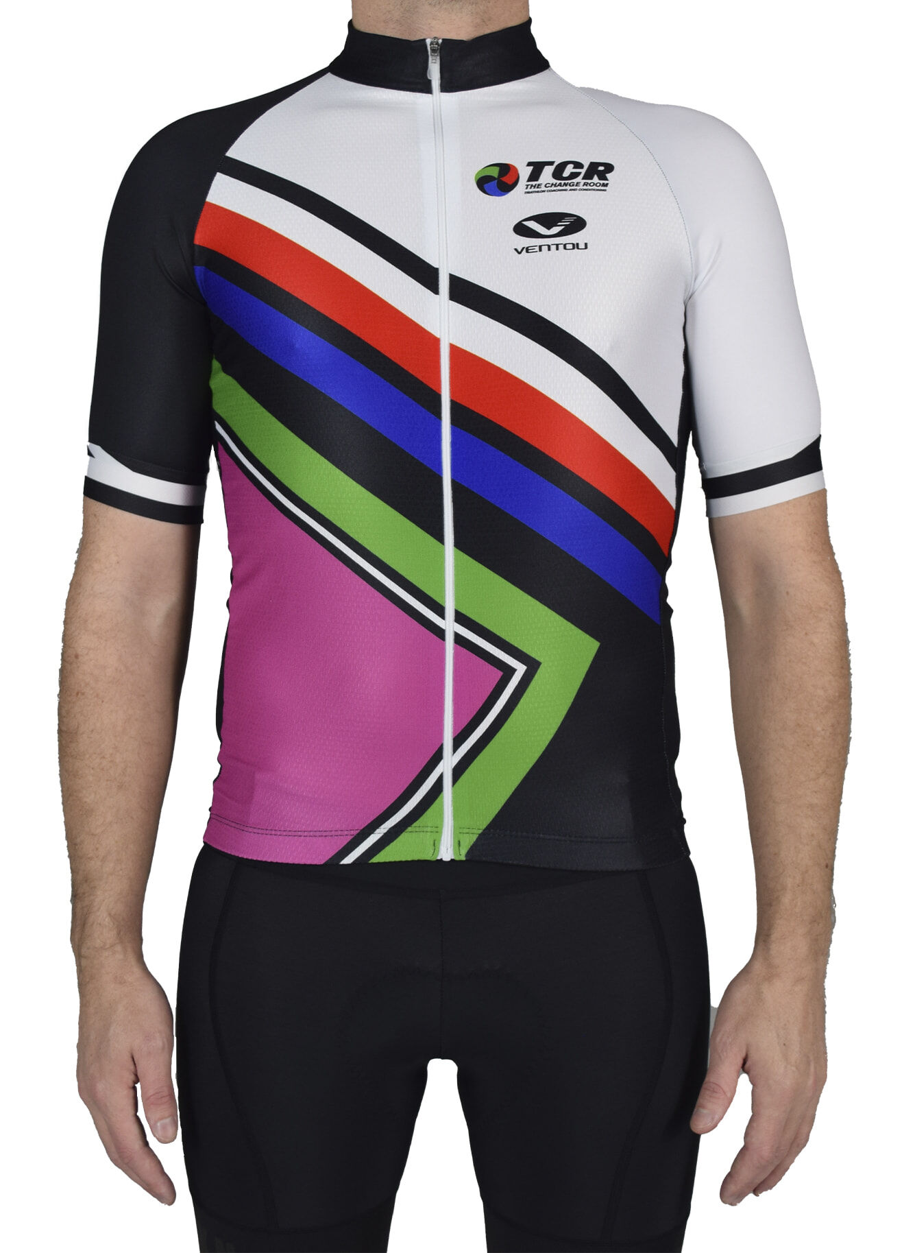 TCR Club Jersey Front