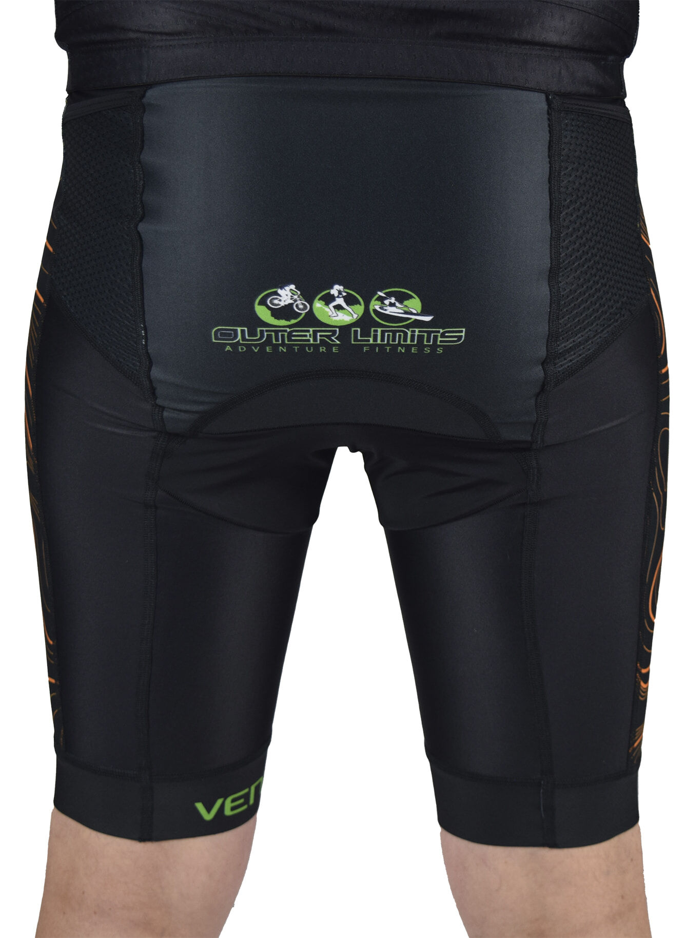 Outer Limits Tri Shorts Back