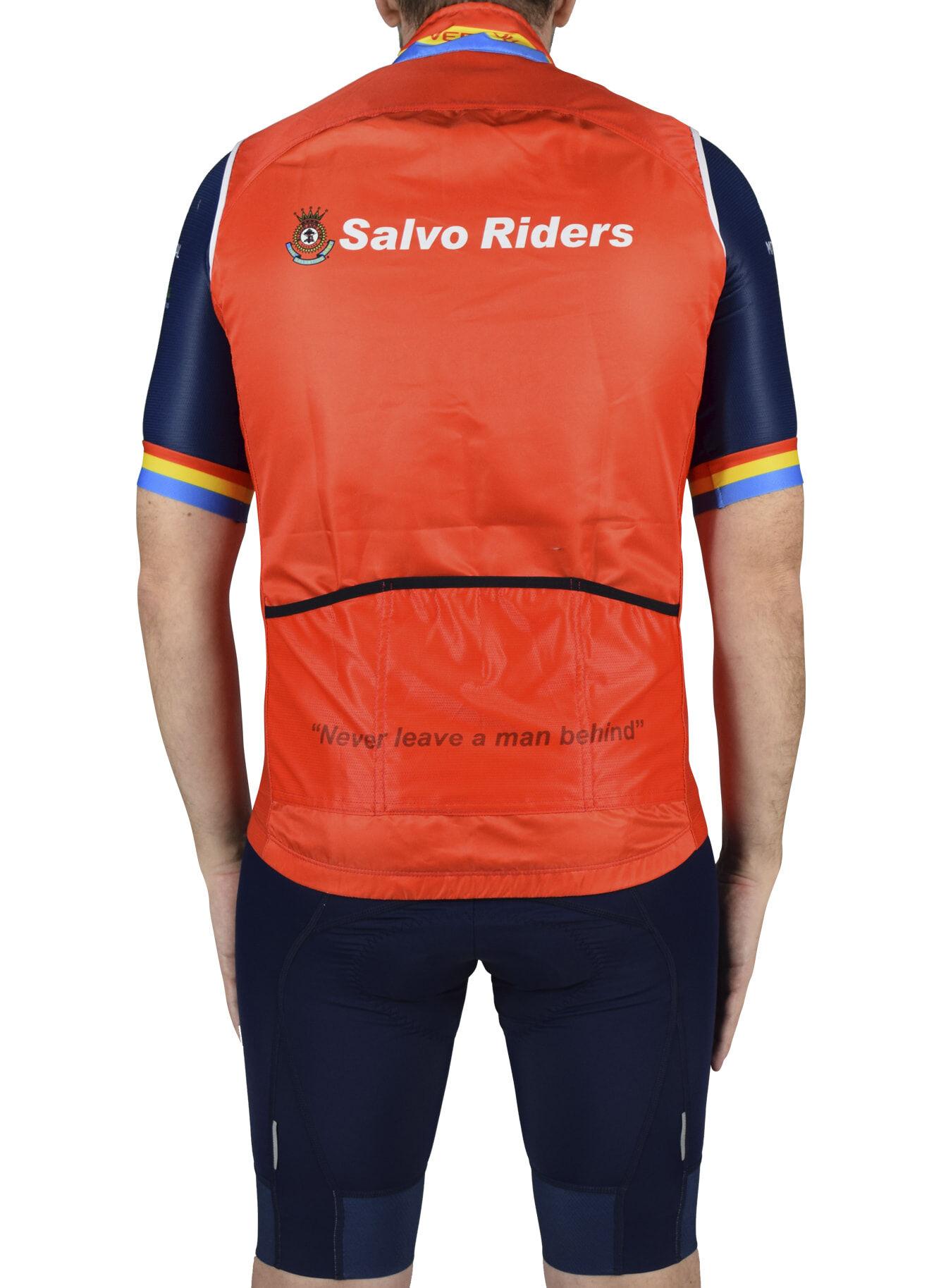 Salvo Riders Pro Vest Back