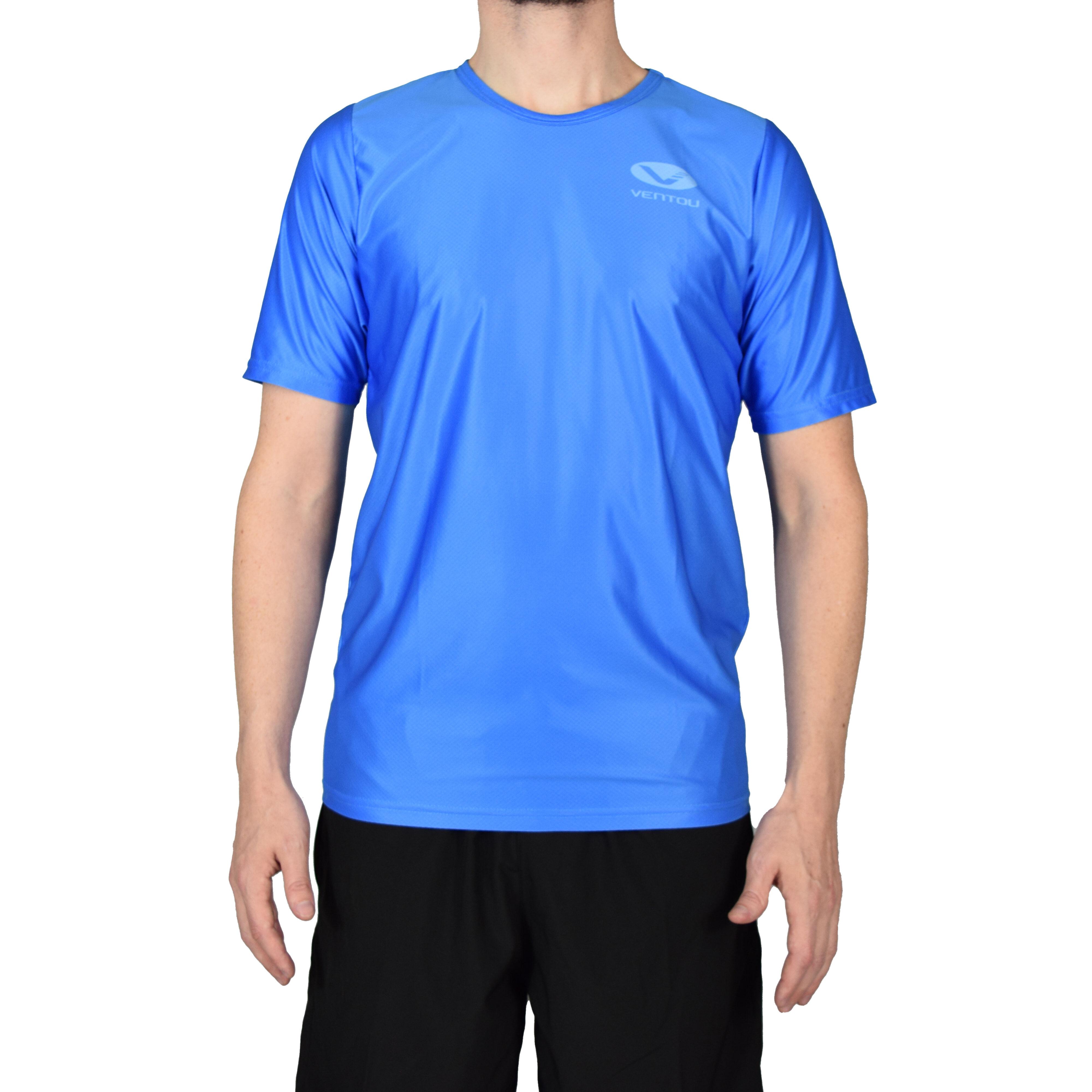 Blue T-Shirt front 3