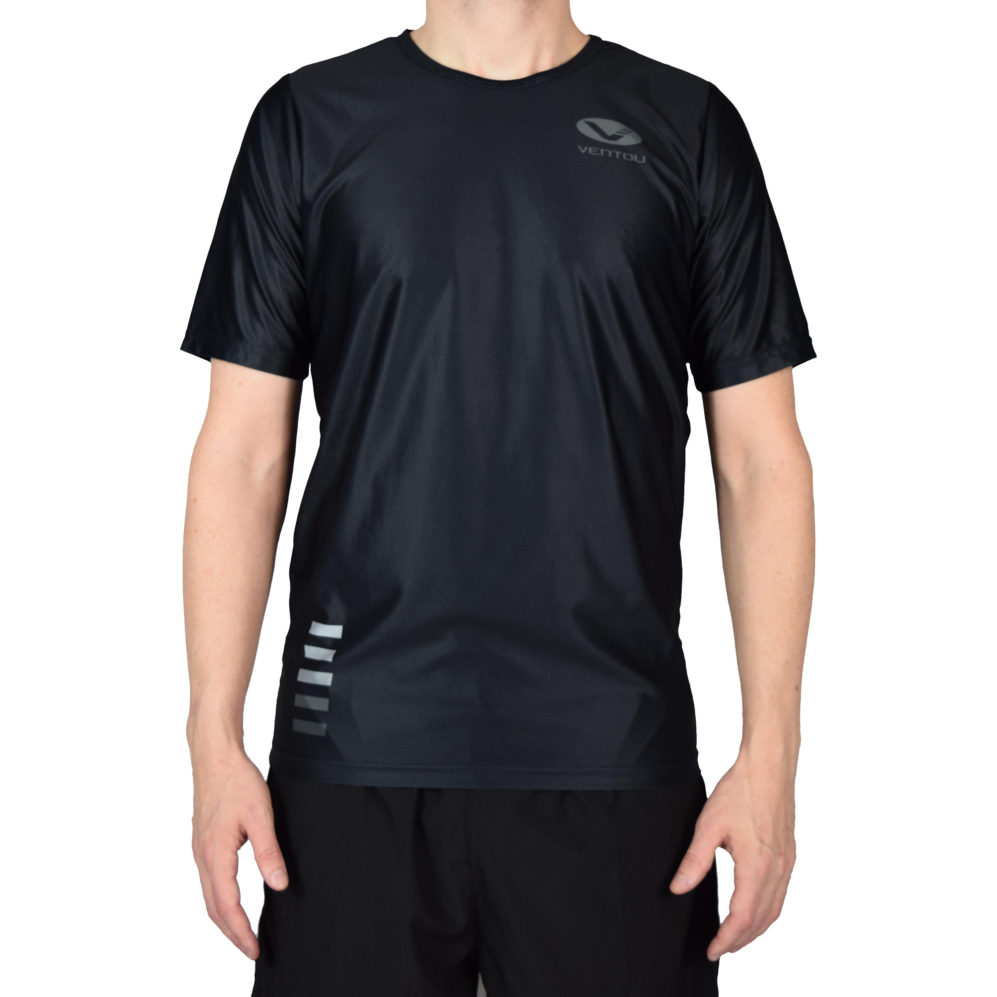 Black T-Shirt front 3