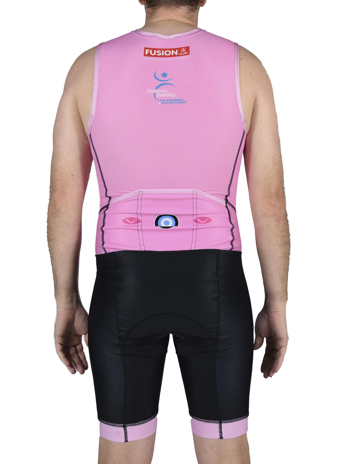 i4 coaching endurance sleeveless tri suit back