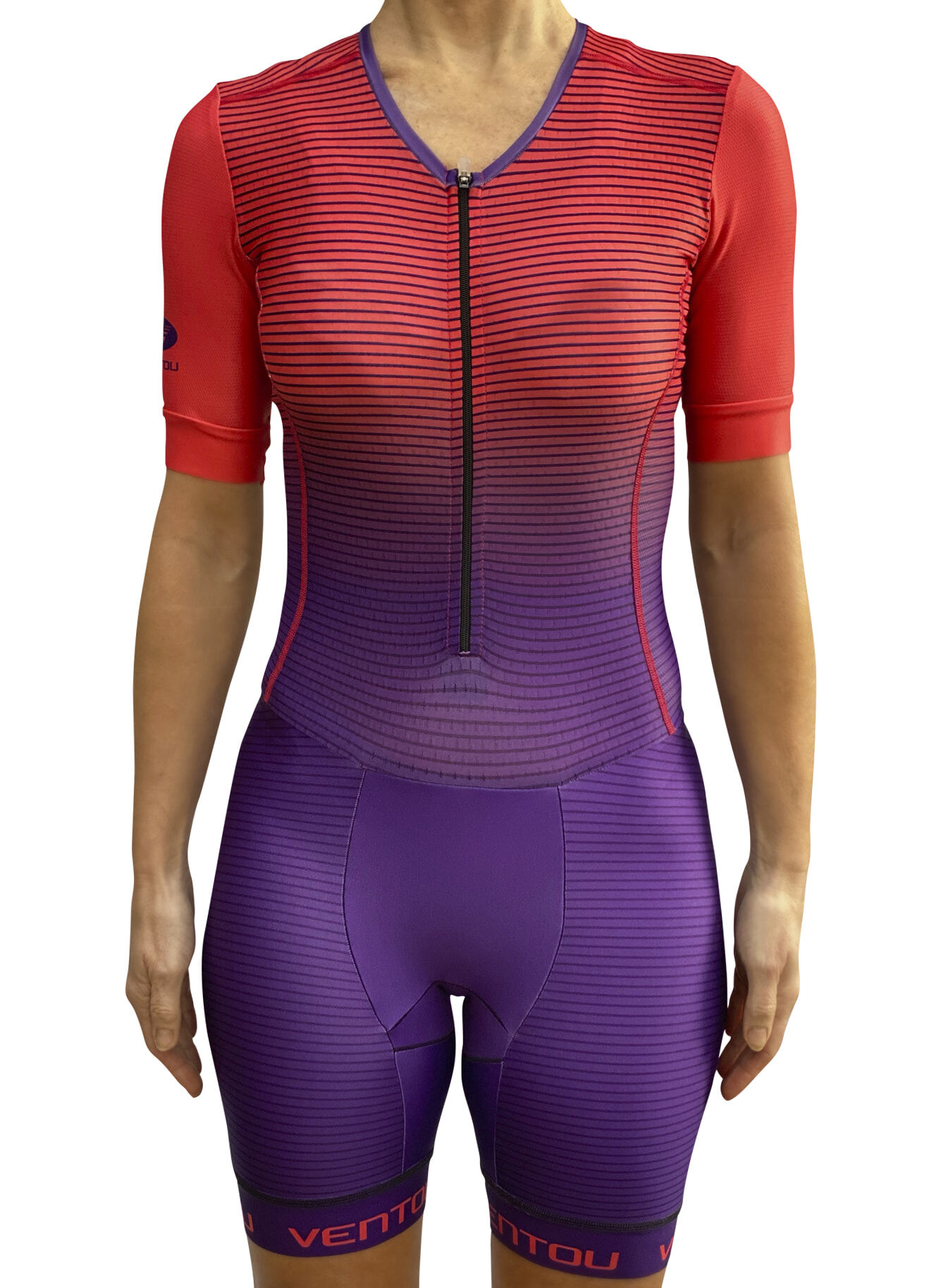 Transitions Womens Tri Suit Front