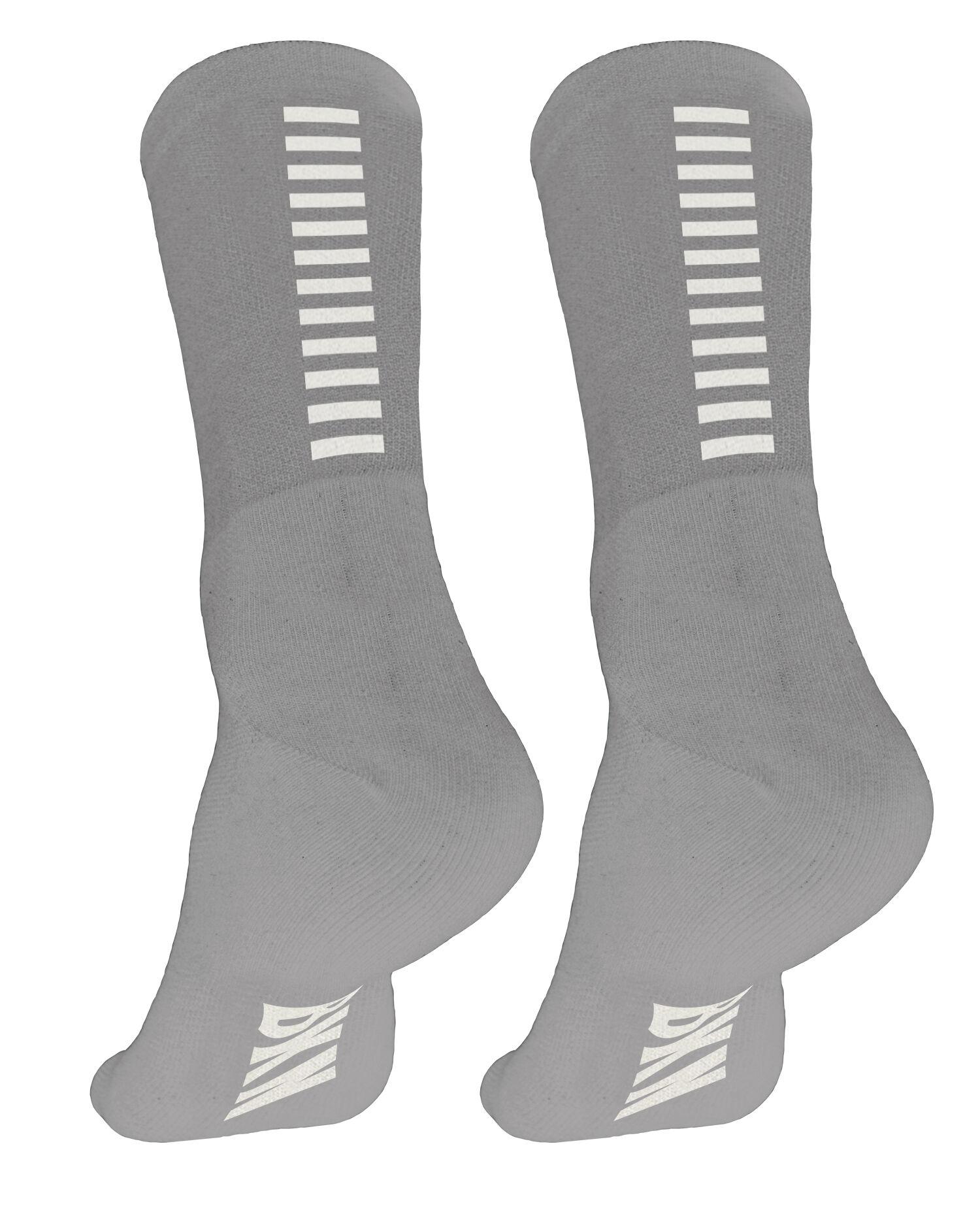 BKN Grey with white stripes