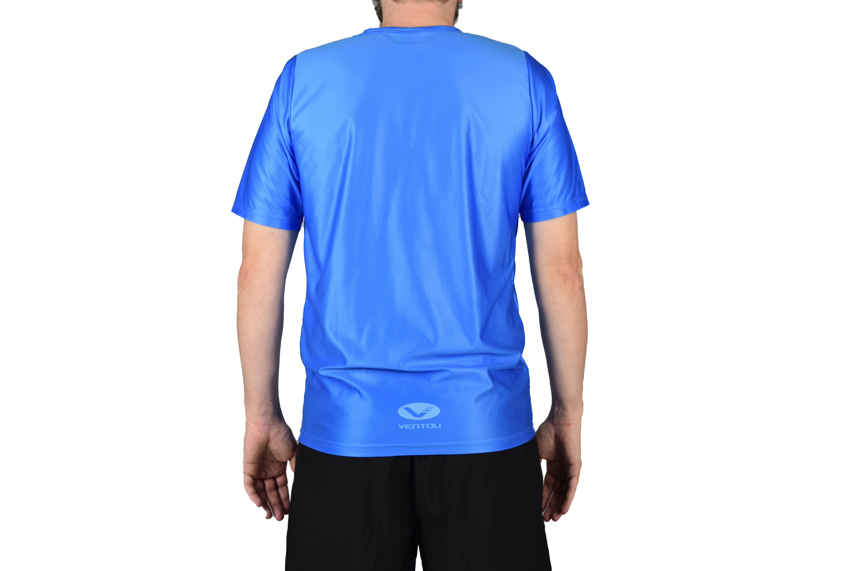 Blue t-shirt back 2