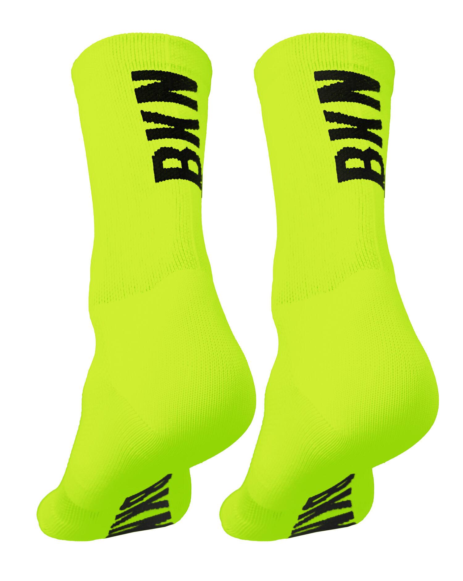 BKN Solid Fluro Socks