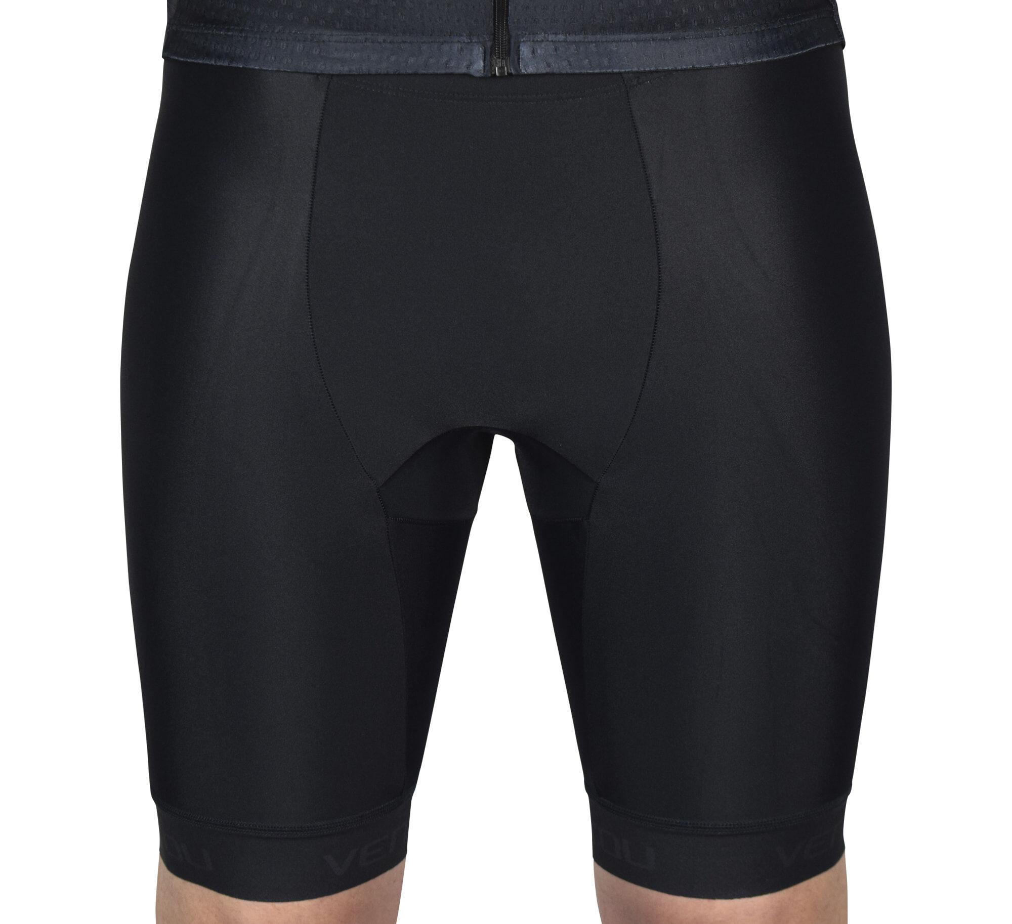 Black Tri Shorts Front 2