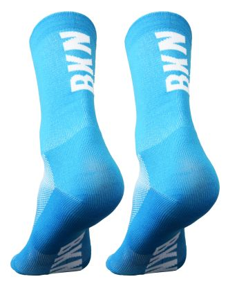 BKN Solid CYAN Socks