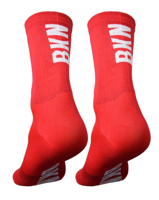 BKN Solid RED Socks