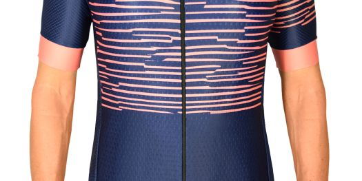 Navy Zebra Jersey front