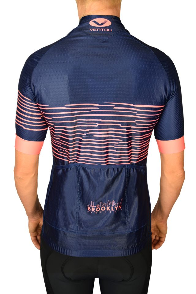 Navy Zebra Jersey back