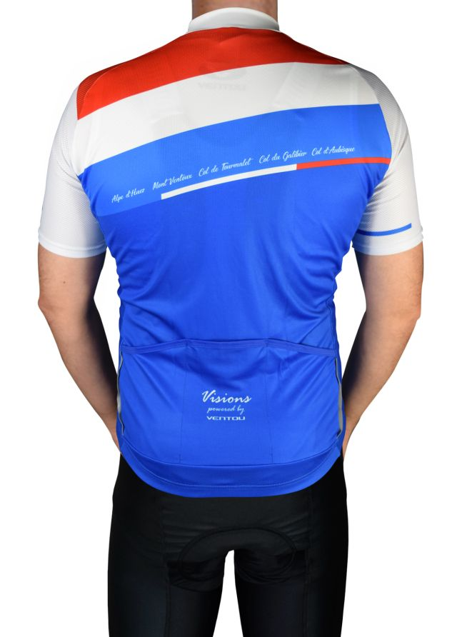 Visions Frenchie Jersey Back Template