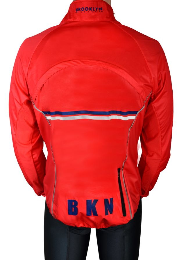 Brookly Red Jacket Back