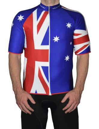7e47fb233 Aussie cycling jersey Front