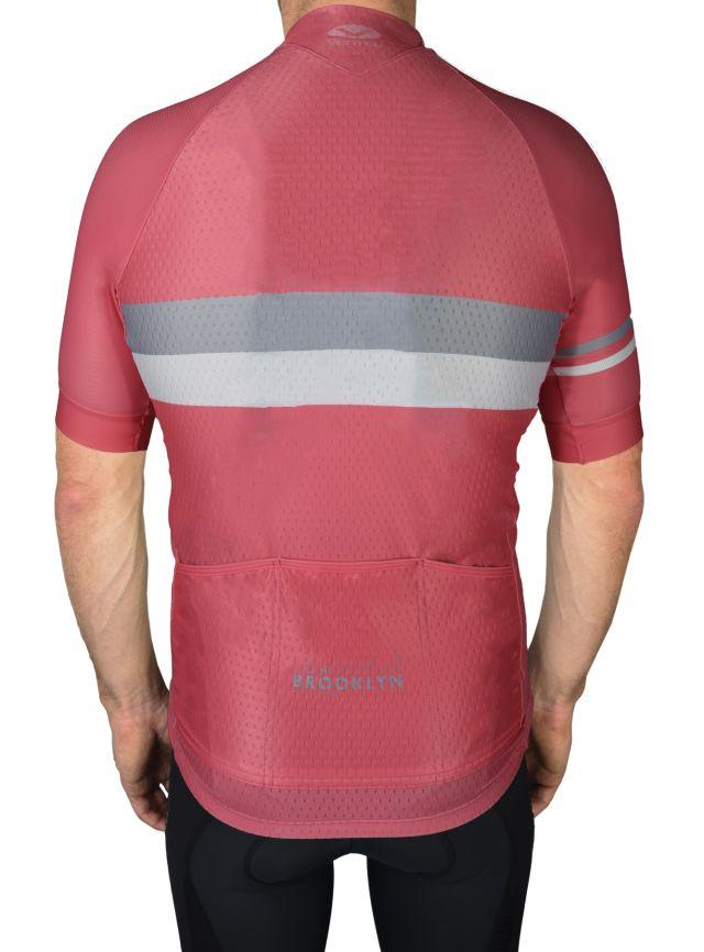 BKN Pink Grey Mens Back