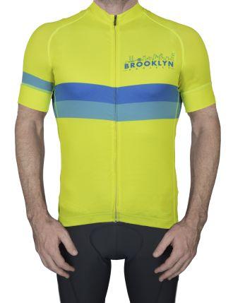 BKN Yellow Blue Stripe Mens Front Lyndon