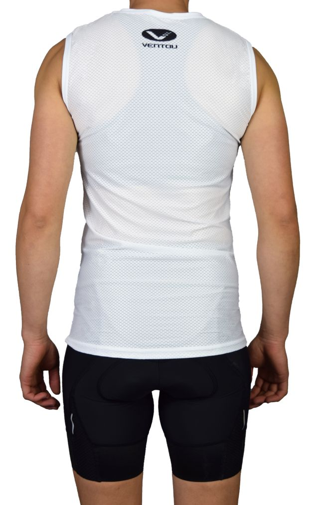 Undershirt Black short BACK