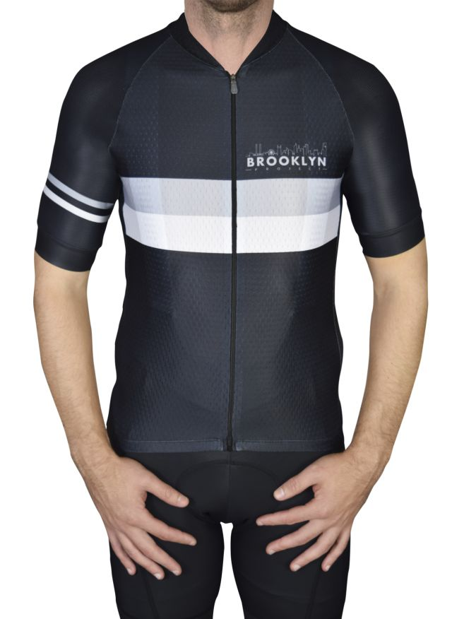 Black-Charcoal Jersey Front