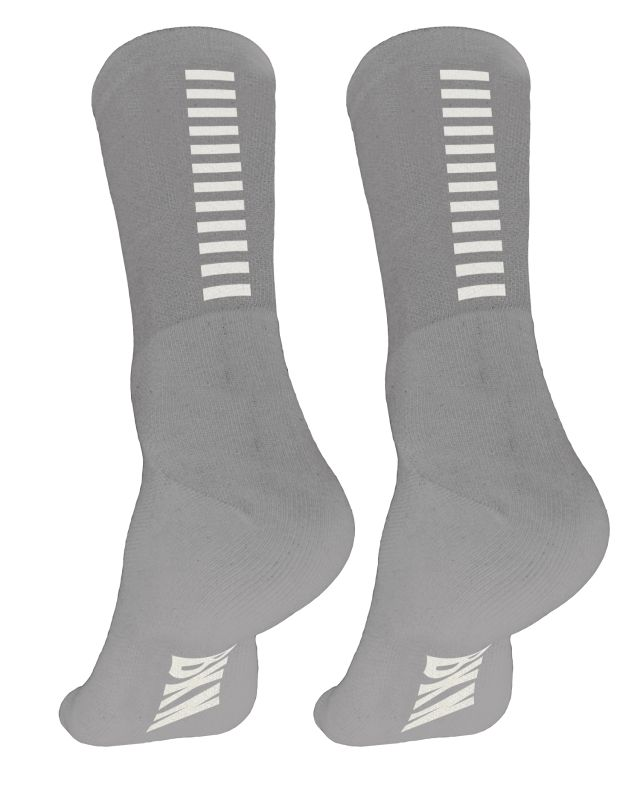 BKN Grey with white stripes