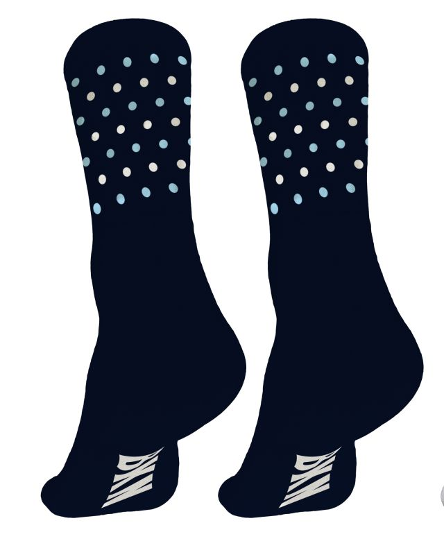 BKN navy dots