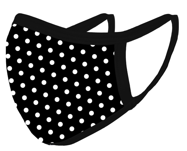 Polka Dots Mask_FLOATING