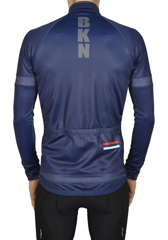 BKN Navy Reflective Jacket BACK